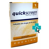 Quickscreen Test Reactivo Deteccion Cocaina