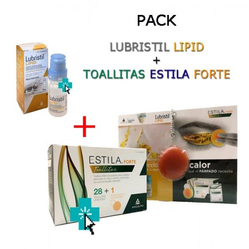 Pack Lubristil Lipid + Estila Forte Toallitas