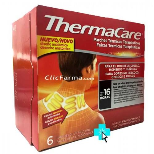 Thermacare 6 Parches cuello, hombros y muñecas