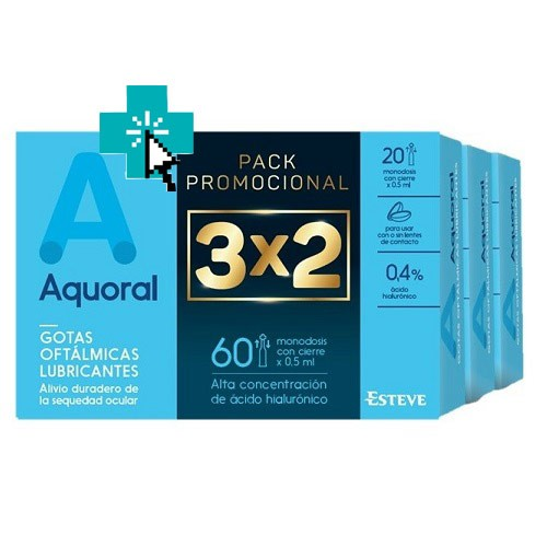 Aquoral 3x2 Pack Promoción