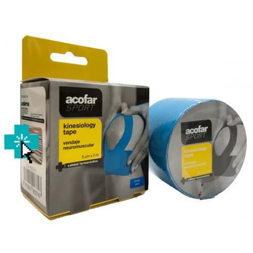acofar Sport Kinesiology Tape Azul