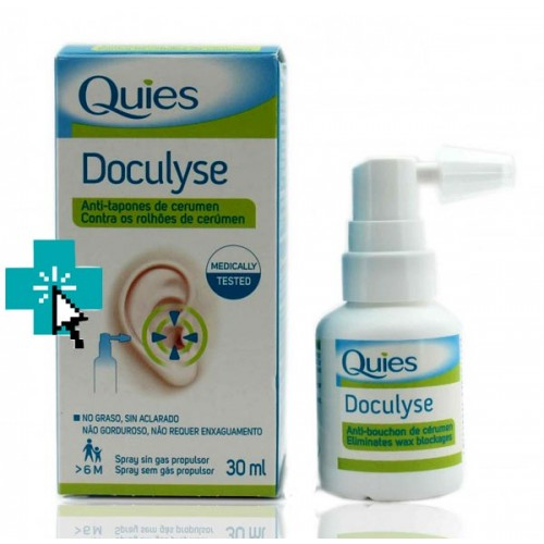 Quies Doculyse Anti-tapones de Cerumen