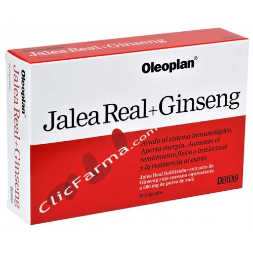 Jalea Real + Ginseng 30 caps.