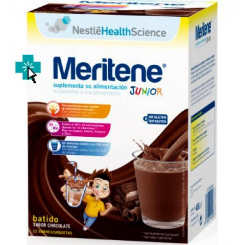 Meritene Junior sabor Chocolate