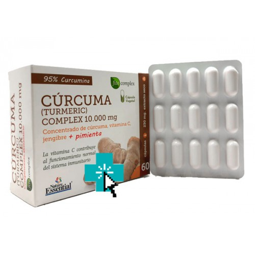 Cúrcuma Nature Essential 60 cápsulas