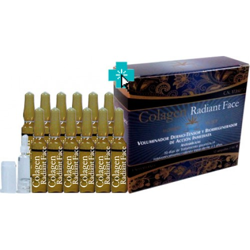 Colagen Radiant Face 12 ampollas