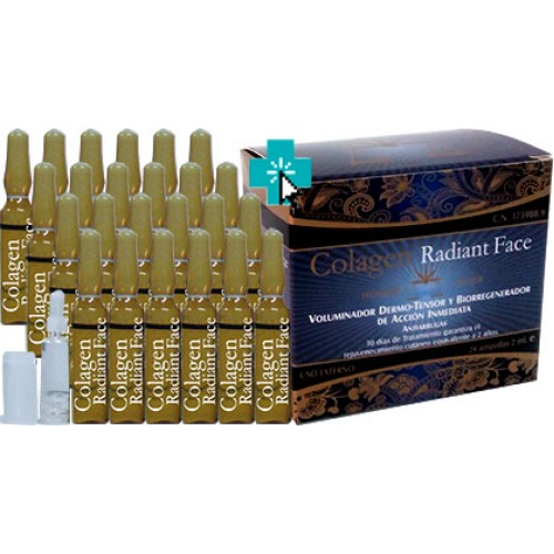 Colagen Radiant Face 24 ampollas