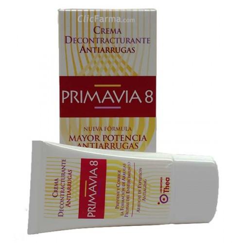 Primavia 8 crema decontracturante antiarrugas