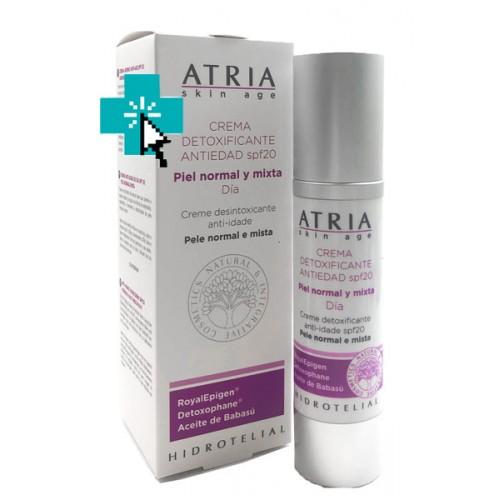 Atria Crema Detoxificante Antiedad spf20