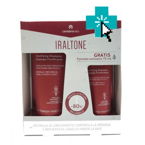 Iraltone Pack Champú Fortificante