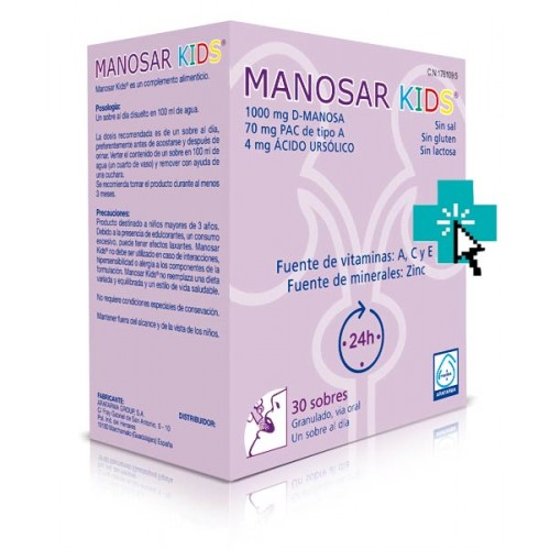 Manosar Kids 30 sobres