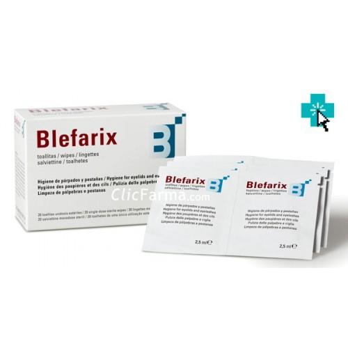Blefarix 20 Toallitas Oculares