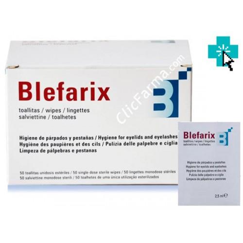 Blefarix 50 Toallitas Oculares