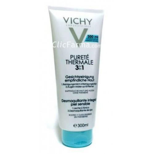 Vichy Purete Thermale Desmaquillante Integral 3 en 1