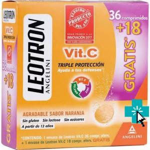 Leotron Vit. C Triple Protección 36+18