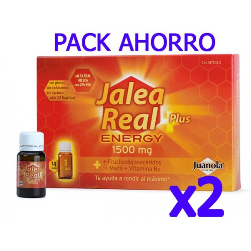 Juanola Jalea Real Plus Energy 1500 mg Pack Ahorro