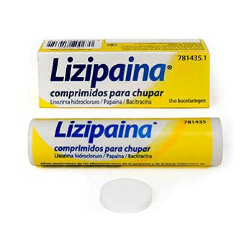 Lizipaina comprimidos para chupar