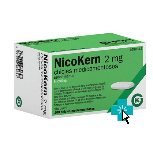 NicoKern 2 mg 108 chicles