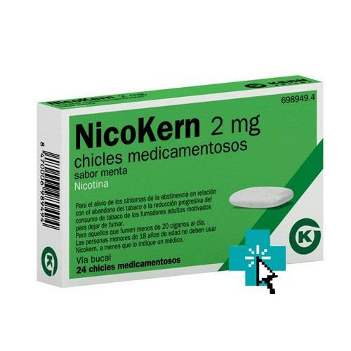 NicoKern 2 mg 24 chicles