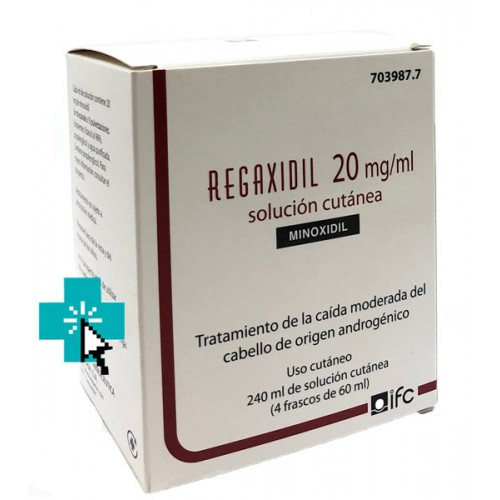 Regaxidil 20 mg 240 ml