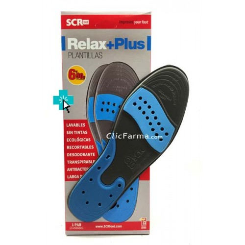 Plantillas Relax Plus Recortables Talla XL