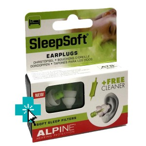 SleepSoft Filtros Anti Ruido y Ronquidos