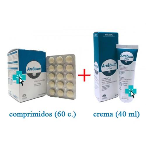 Arrebum Pack comprimidos y crema