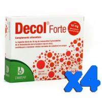 Decol Forte 4x30 cápsulas