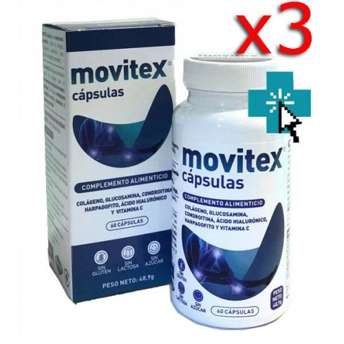 Movitex 60 cápsulas x3