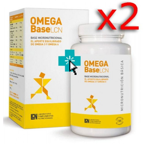 Omega Base LCN 120 cápsulas Duplo