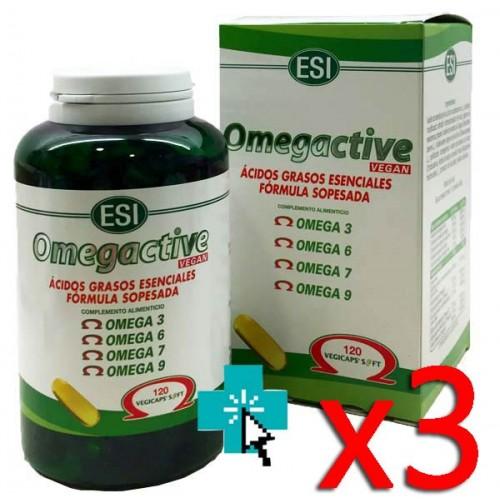 Omegactive 120 Perlas Triplo