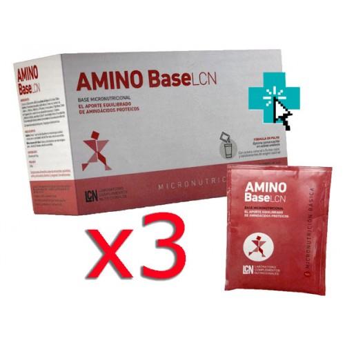 Amino BaseLCN 30 sobres x3