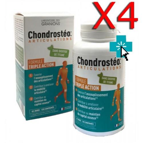 Chondrosteo Articulations x4