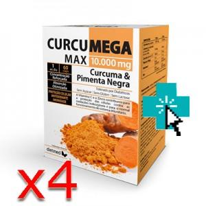 Curcumega Max 60 cápsulas x4