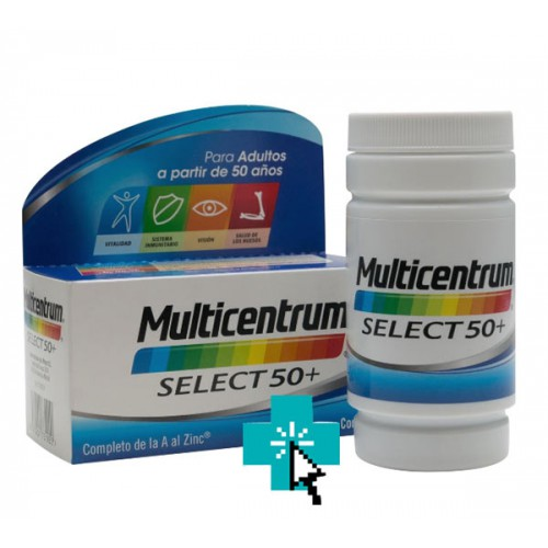 Multicentrum Select 50+ (90 comprimidos)