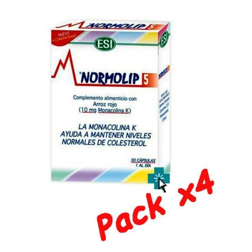 Normolip 5 ESI Pack x4