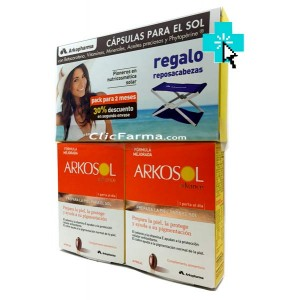 Arkosol Advance duplo + Regalo Resposacabezas