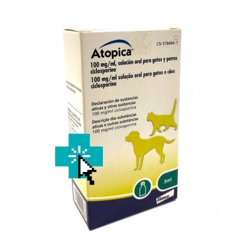 Atopica Para Perros y Gatos 5 ml