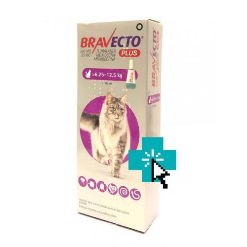 Bravecto Plus Gatos 6.25-12.5 Kg