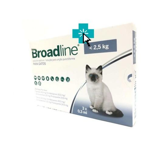 Broadline Gatos <2.5 kg