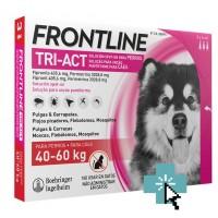 Frontline Tri-Act Perros 40-60 kg 3 Pipetas