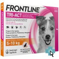 Frontline Tri-Act Perros 5-10 kg 3 Pipetas