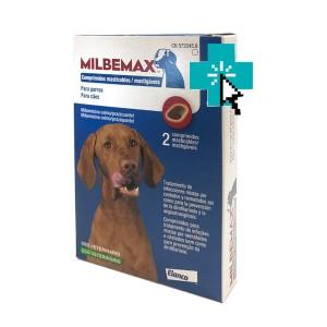 Milbemax Perros 2 comprimidos