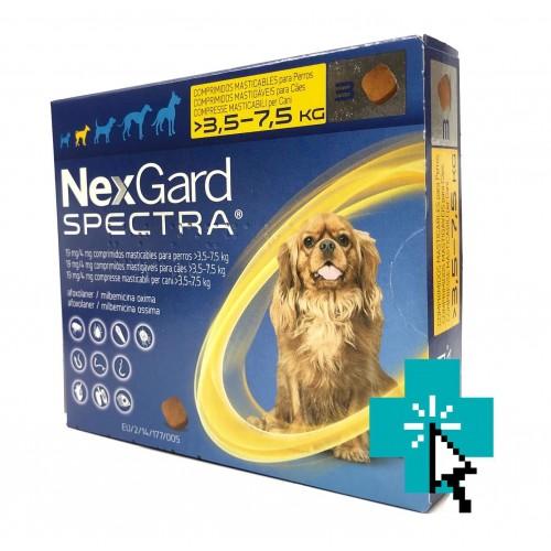 Nexgard Spectra 3.5-7.5 kg