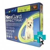 Nexgard Spectra 7.5-15 kg
