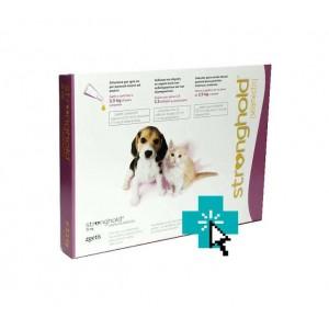 Stronghold Perros y Gatos <2.5 kg