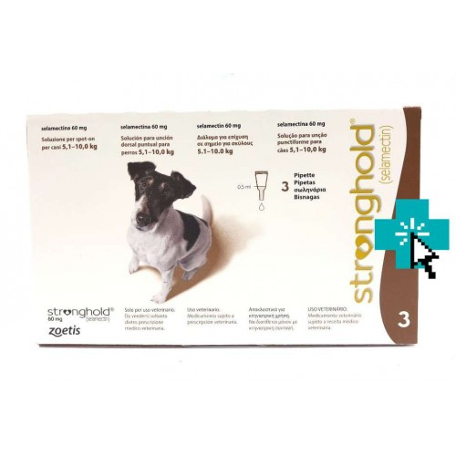 Stronghold Perros 5.1-10 kg 3 Pipetas