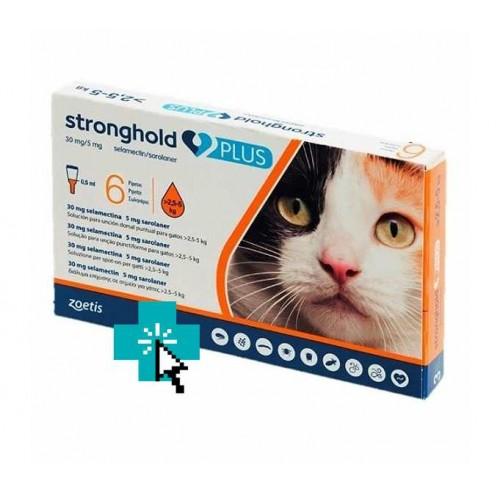 Stronghold Plus Gatos 2.5-5 kg