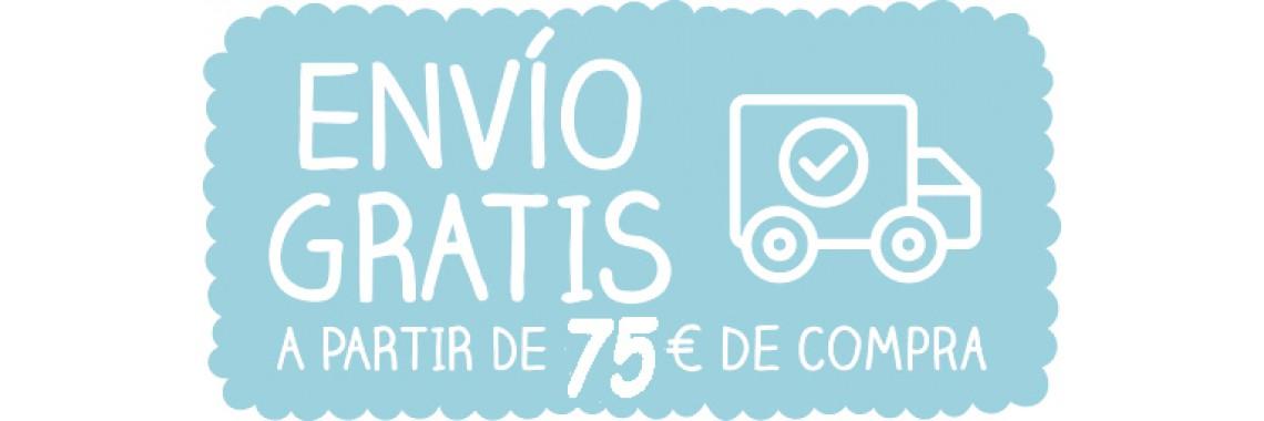 Envío gratis 75 €