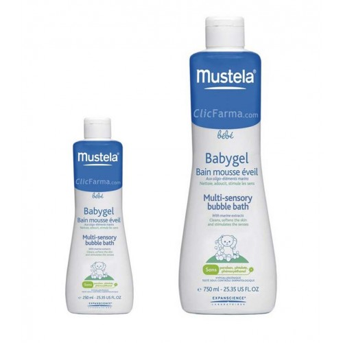 Mustela Babygel 250 o 750 ml